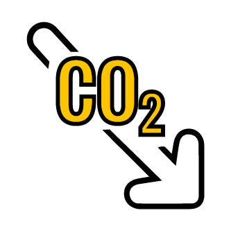 Reduction CO2