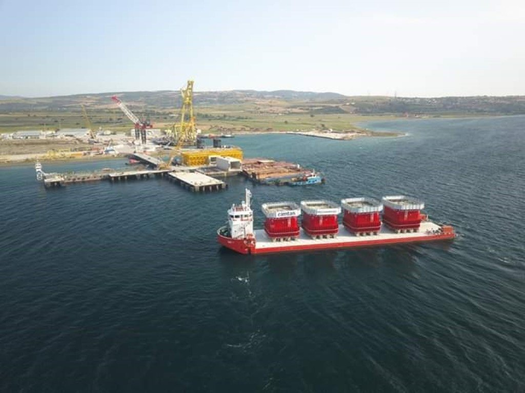 The Journey of Caissons Çanakkale